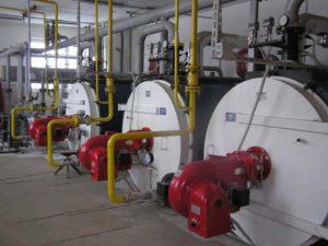 Нарушение герметичности котла и систем, обеспечивающих его работу